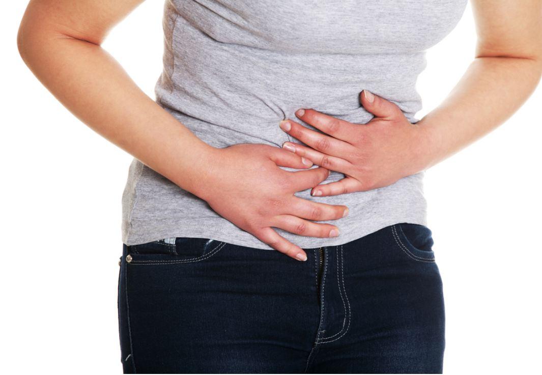 sharp pain in lower abdomen